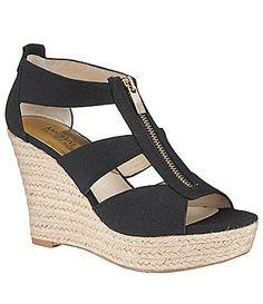 MICHAEL Michael Kors Damita Peep Toe Wedges #Dillards