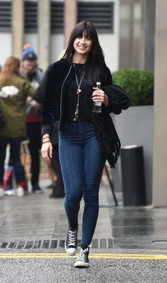 Daisy Lowe Leaves Her Hotel in Birmingham