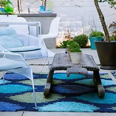 Gorgeous outdoor rug