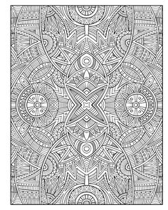 Diabolically Detailed Colouring Book (Volume 2) (Art-Filled Fun Colouring Books): Amazon.co.uk: Various, H.R Wallace Publishing: 9781499737769: Books Abstract Doodle Zentangle Coloring pages colouring adult detailed advanced printable Kleuren voor volwassenen coloriage pour adulte anti-stress kleurplaat voor volwassenen