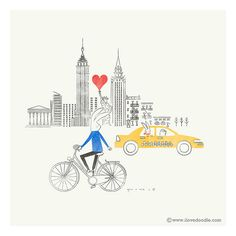 Love around the world @ New York by ILoveDoodle, via Flickr