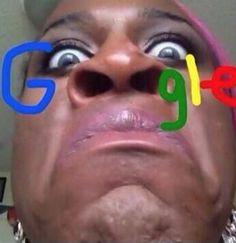 Google Nostrils Logo