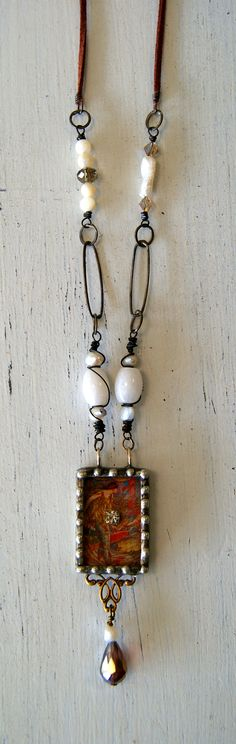 www.facebook.com/...     Hand made jewelry with glass beads, rhinestones, charms and welded pieces!