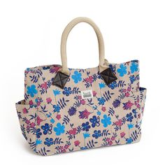 We're surrounded by beautiful fabrics as Bag It Don't Bin It, such as iconic floral prints from clients such as Liberty.  I drew on this inspiration to form a 21st century bold floral print for Talented Totes.