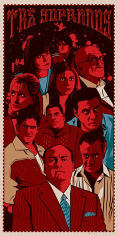 The best show ever on television and my personal favorite...until Breaking Bad came out. Still love The Sopranos, but it's now my #2 favorite of all time.