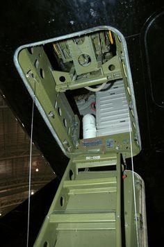B-52D entry hatch.