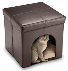 Cat Ottoman