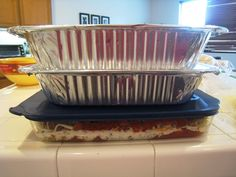 Freezer meals to take on the road.  Includes ideas for breakfast, lunch, and dinner.