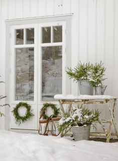 HOME & GARDEN: Let it snow !
