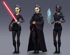 Star Wars rebels concept artist - Google Search