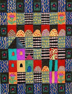 so fun!  make a cute quilt too :)