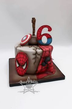 Avengers cake by Starry Delights