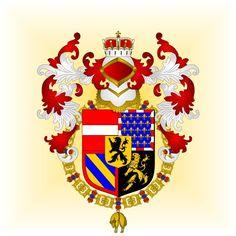 Charles de Habsbourg (Gand, 25 février 1500 - Yuste, 21 septembre 1558) Archiduc d'Autriche Prince de Gérone (1516), Prince des Asturies, Prince de Viane, Duc de Montblanc, Comte de Cervera, Seigneur de Balaguer, (1504) puis Roi Charles Ier de Castille et Léon (1516-1556, conjointement avec sa mère jusqu'en 1555), de Galice (1516-1556, conjointement avec sa mère jusqu'en 1555), de Tolède (1516-1556, conjointement avec sa mère jusqu'en 1555), de Séville (1516-1556, conjointement avec sa mère…