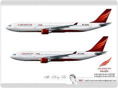 Air Nong Pui / Airbus A330 300 / Livery concept  Air Nong Pui / Airbus A330 200 / Livery concept