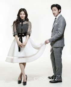 Ha Ji Won and Ha Jung Woo - Cine21 Magazine No.987