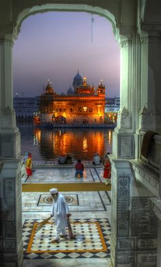 Golden Temple ~Amritsar, India