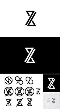 Creative Logo, Scandinavian, Logos, and image ideas & inspiration on Designspiration Self Branding, Personal Branding Examples, Logo Branding, Personal Logo, Monogram Logo, Typography Logo, Art Logo, Logo Images, Lettering