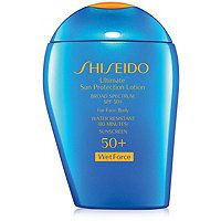 Shiseido - Ultimate Sun Protection Lotion Broad Spectrum SPF 50  WetForce in 1.7 oz #ultabeauty