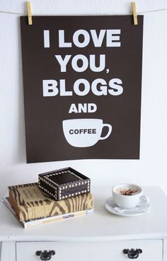 a little blog in my coffee