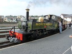 190 SOUTHERN at Porthmadog. Ffestiniog Railway