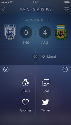 Secret Football App [Modal Sheet] by Alexander Zaytsev