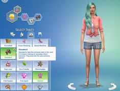 Lana CC Finds - Daredevil Trait by GoBananas (Sims 4) ...