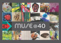 MUSE @40. Muse Gallery, Old City Philadelphia December First Friday 12/1 #MUSEGallery #Philadelphia #art #DoNArTNeWs