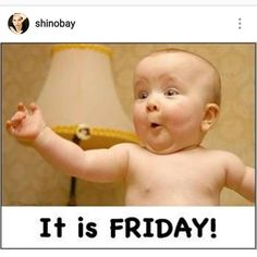 Funny baby pictures, funny pics, funny images, funny videos, funny ca Funny Baby Pictures, Funny Photos, Funny Images, Baby Images, Amazing Pictures, Its Friday Quotes, Friday Humor, Funny Friday, Hilarious Pictures