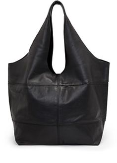 TOUCH - Hobo leather bag