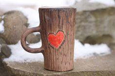 Heart Mug Love Gift Romantic gift Gift for Her Valentines gift Valentines day gift Red heart Love mug Valentines day decor Coffee mug Be my by SmilingAlligator on Etsy https://www.etsy.com/listing/477235420/heart-mug-love-gift-romantic-gift-gift