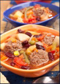 Easy Soup Recipes  - meatball