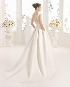 CERES vestido de novia Aire Barcelona 2017