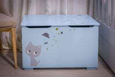 Ana Antunes   Quarto de Criança   Children's Bedroom   Storage Bench