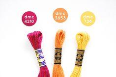 Lantana Flower colors.  Perfect Fuscchia, light tangerine, and Meyer Lemon Yellow.   Color Combo: Mum's the Word