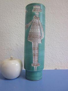 Fratelli Fanciullacci seltene Keramikvase im von Designclassics24