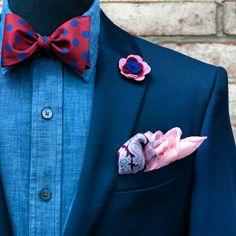 WWW.KINGKRAVATE.COM Suit Up, Suit And Tie, Tie And Pocket Square, Pocket Squares, Mens Fashion Wear, Men's Fashion, Fashion Tips, Men Suit Shoes, Boys Suits