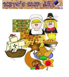 thanksgiving clipart teachers notebook holiday thanksgiving rh pinterest com Owl Teacher Clip Art Animated Clip Art for Teachers