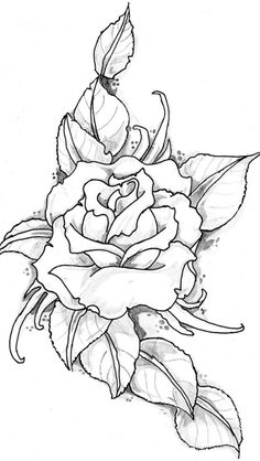 Tatto Zeichnungen Rose Tattoo Bild von eltattooartist traditionelle Kunst andere 2012 tatto drawings rose tattoo image by eltattooartist traditional art other 2012 Colouring Pages, Adult Coloring Pages, Coloring Books, Fabric Painting, Painting & Drawing, Wood Burning Patterns, Pyrography, Traditional Art, Tattoo Traditional