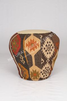 #Kilim Poufs Natural Fibres Export www.naturalfibres.in