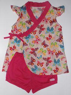 2 - 6 years dress girl clothes kimono style dress by SUIKA vestido estilo quimono de 2 a 6 anos da SUIKA