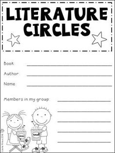 Literature Circles enable children to have in depth conversations about literature. Children collaborate with their peers, listen actively, contribute positively, and explore literature together. Students become critical thinkers by constructing meaning o