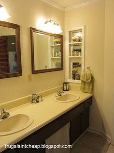 Bathroom makeover on a $48 budget