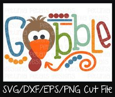Check out our turkey svg selection for the very best in unique or custom, handmade pieces from our shops. Silhouette Cameo Projects, Silhouette Design, Diy Crafts To Do, Cricut Creations, Thanksgiving Crafts, Vinyl Designs, Vinyl Projects, Svg Cuts, Svg File