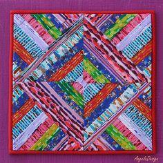 Polymer clay quilt | Angela Barenholtz | Flickr