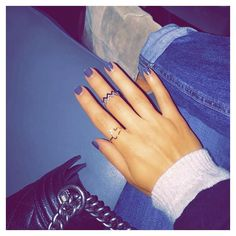 Girls Night Out #ALEXMIKA Heart & Zig Zag #Ring  alexmikajewelry.com