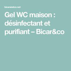 Gel WC maison : désinfectant et purifiant – Bicar&co
