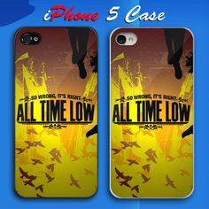 All Time Low So Wrong It's Right Custom iPhone 5 Case Cover