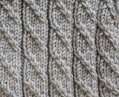1000+ images about Knit Stitches on Pinterest Stitches, Knits and Cable