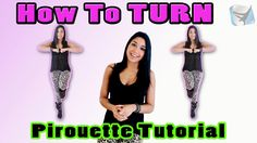 HOW TO TURN! JAZZ Dance Tutoria w/ Dana Alexa | Pirouette for Beginners (Step-by-Step)