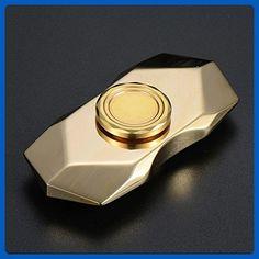 aa4978e09 YELLU Diamond Shape Golden Metal Fidget Spinners Toy Spin Super Long Time  guarantee Spin Over 6 Mins - Fidget spinner (*Amazon Partner-Link)